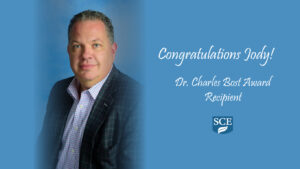 Congratulations to Jody Cordaro (CEO of SCE Environmental Group) for receiving the Dr. Charles Bost Award